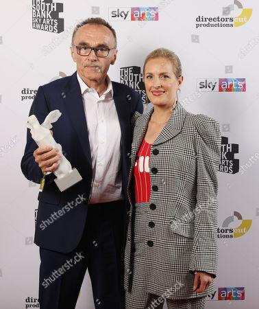 Danny Boyle and Polly Morgan
