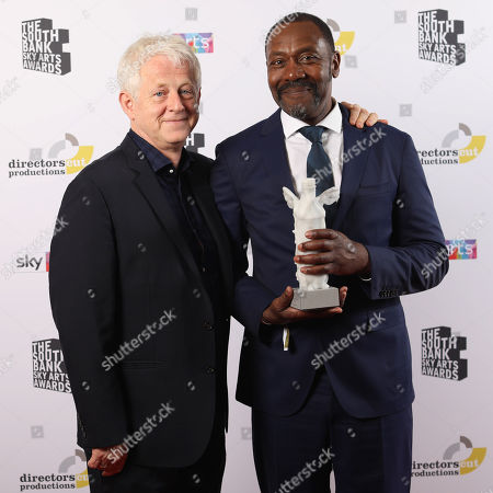 Richard Curtis and Lenny Henry