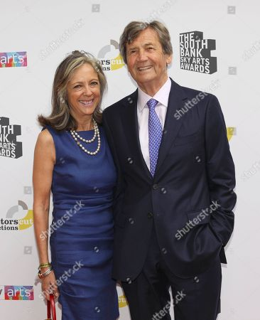 Melvyn Bragg and wife