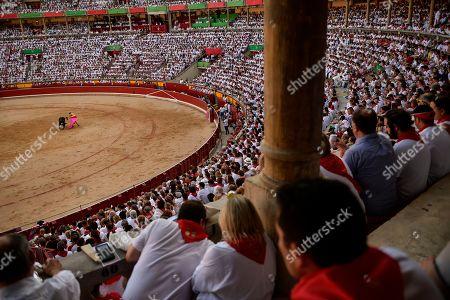 Editorial image of Running of the Bulls, Pamplona, Spain - 07 Jul 2019