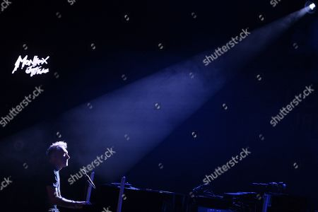 Stock Photo of Yann Tiersen performs on the stage of the Montreux Jazz Club during the 53rd Montreux Jazz Festival (MJF), in Montreux, Switzerland, 07 July 2019. The MJF runs from June 28 to July 13 and features 450 concerts.