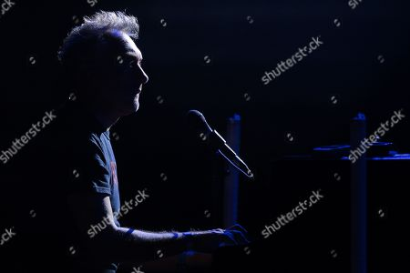 Stock Image of Yann Tiersen performs on the stage of the Montreux Jazz Club during the 53rd Montreux Jazz Festival (MJF), in Montreux, Switzerland, 07 July 2019. The MJF runs from June 28 to July 13 and features 450 concerts.