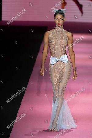 Editorial image of Sarda Sarda show, Runway, Mercedes Benz Fashion Week, Madrid, Spain - 07 Jul 2019