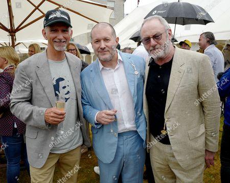 Damon Hill, Jony Ive and Liam Cunningham