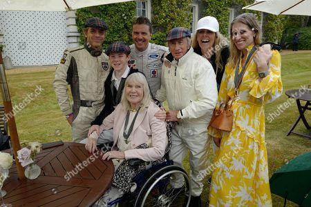 Paul Stewart, Mark Stewart, Sir Jackie Stewart, Victoria Stewart, Anne Stewart and Helen Stewart