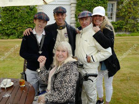 Paul Stewart, Sir Jackie Stewart, Victoria Stewart and Helen Stewart