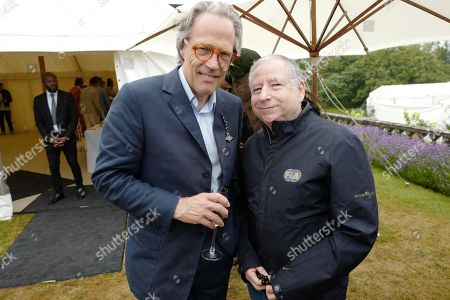 Lord March, 11th Duke of Richmond and Jean Todt
