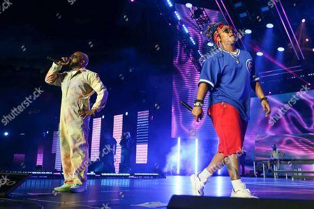 Jermaine Dupri, Da Brat. Jermaine Dupri and Da Brat perform at the 2019 Essence Festival at the Mercedes-Benz Superdome, in New Orleans