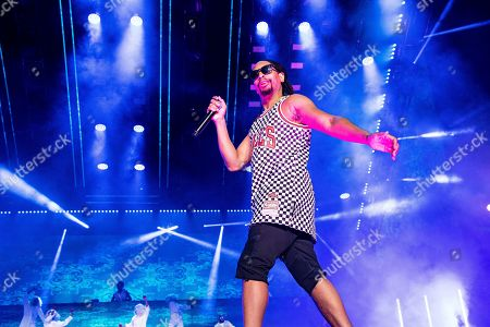 Stock Image of Lil Jon. Lil John performs at the 2019 Essence Festival at the Mercedes-Benz Superdome, in New Orleans