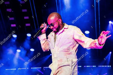 Jermaine Dupri performs at the 2019 Essence Festival at the Mercedes-Benz Superdome, in New Orleans