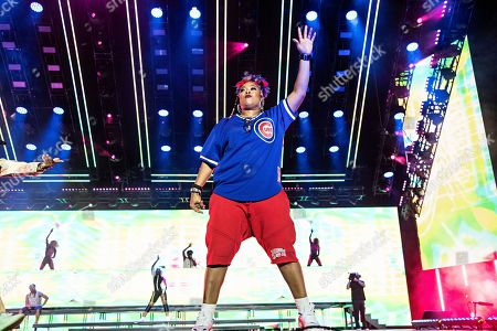 Da Brat performs at the 2019 Essence Festival at the Mercedes-Benz Superdome, in New Orleans