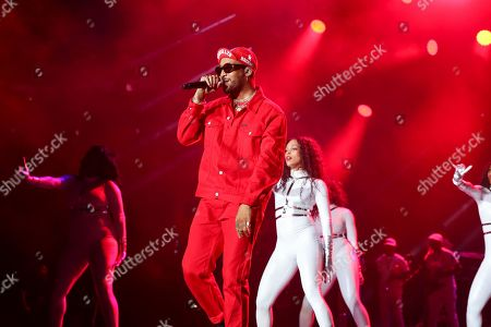 Ro James performs at the 2019 Essence Festival at the Mercedes-Benz Superdome, in New Orleans