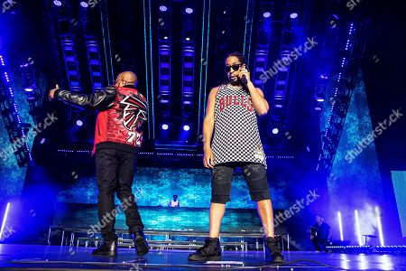 Lil Jon; Jermaine Dupri. Jermaine Dupri, left, and Lil Jon perform at the 2019 Essence Festival at the Mercedes-Benz Superdome, in New Orleans