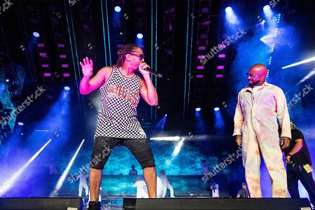 Lil Jon; Jermaine Dupri. Lil Jon, left, and Jermaine Dupri perform at the 2019 Essence Festival at the Mercedes-Benz Superdome, in New Orleans