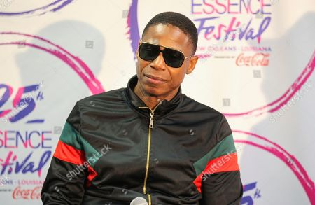 Doug E. Fresh at the 2019 Essence Festival at the Mercedes-Benz Superdome, in New Orleans