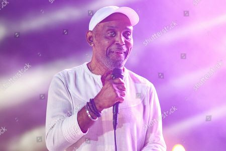 Stock Image of Frankie Beverly performs at the 2019 Essence Festival at the Mercedes-Benz Superdome, in New Orleans