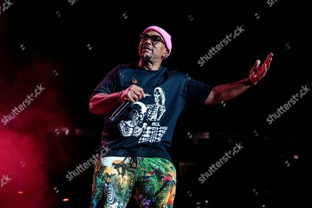 Timbaland performs at the 2019 Essence Festival at the Mercedes-Benz Superdome, in New Orleans