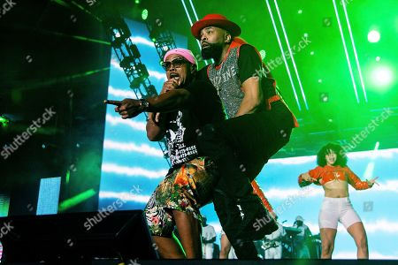 Timbaland;Ginuwine. Timbaland, left, and Ginuwine perform at the 2019 Essence Festival at the Mercedes-Benz Superdome, in New Orleans