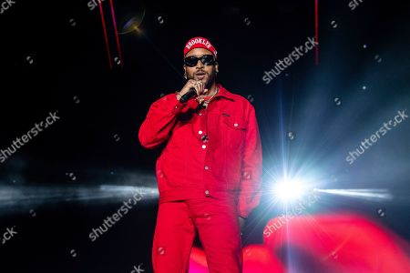 Stock Picture of Ro James performs at the 2019 Essence Festival at the Mercedes-Benz Superdome, in New Orleans