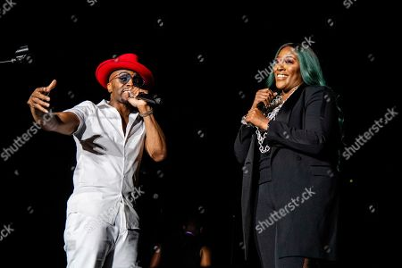 Teddy Riley; Coko. Teddy Riley, left, and Coko perform at the 2019 Essence Festival at the Mercedes-Benz Superdome, in New Orleans