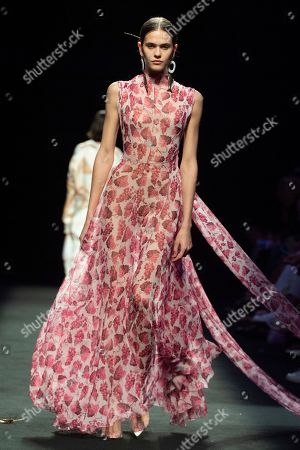 Editorial photo of Juan Vidal show, Runway, Mercedes Benz Fashion Week, Madrid, Spain - 07 Jul 2019