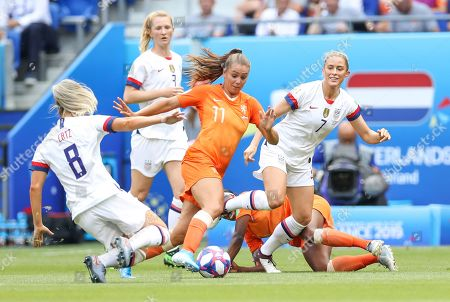 Editorial photo of USA v Netherlands, FIFA Women's World Cup Final, Football, Stade de Lyon, France - 07 Jul 2019