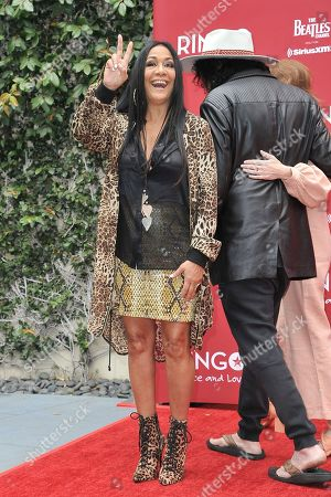 Sheila E. attends Ringo Starr's 11th Annual Peace and Love birthday celebration at Capitol Records Tower, in Los Angeles