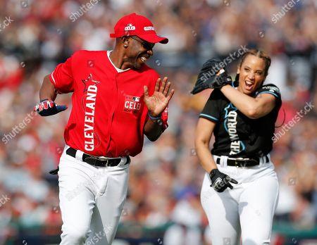 Editorial photo of MLB All-Star Celebrity Softball Game, Cleveland, USA - 07 Jul 2019