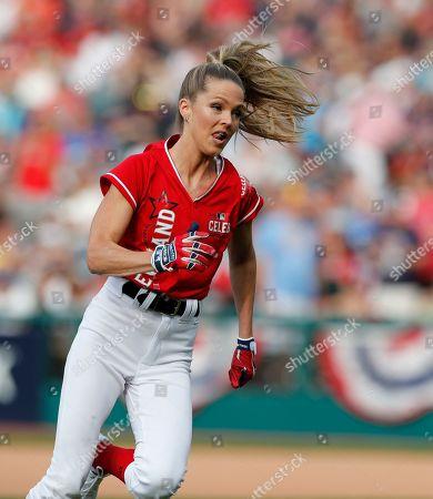 Editorial image of MLB All-Star Celebrity Softball Game, Cleveland, USA - 07 Jul 2019