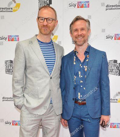 Stock Picture of Mark Gatiss and Ian Hallard