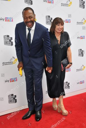 Stock Picture of Sir Lenny Henry and Lisa Makin