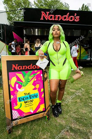 Stefflon Don with Nando's