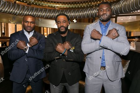 Rashad Evans and guests