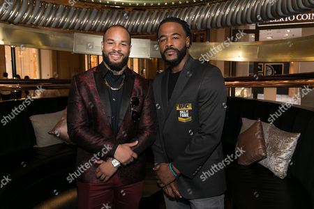 Editorial photo of Rashad Evans inducted in to the UFC Hall of Fame at Electra Cocktail Club, Las Vegas, USA - 05 Jul 2019