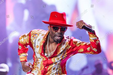 Teddy Riley performs at the 2019 Essence Festival at the Mercedes-Benz Superdome, in New Orleans