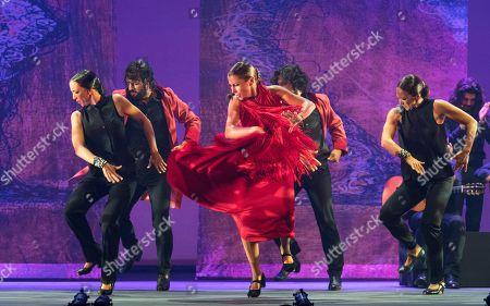 Editorial photo of 'Sombras' performed by Ballet Flamenco Sara Baras at Sadler's Wells Theatre, London, UK - 02 Jul 2019