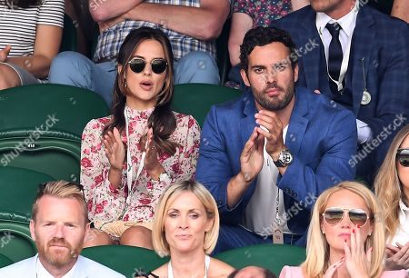 Lucy Watson and James Dunmore on Centre Court