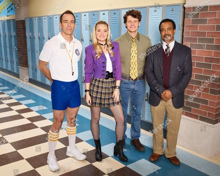 Bryan Callen as Coach Mellor, AJ Michalka as Lainey Lewis, Brett Dier as C.B. and Tim Meadows as Principal Glascott