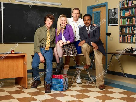 Brett Dier as C.B., AJ Michalka as Lainey Lewis, Bryan Callen as Coach Mellor and Tim Meadows as Principal Glascott