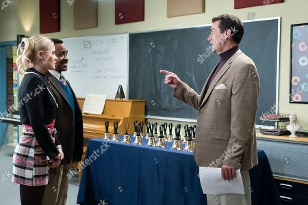 AJ Michalka as Lainey Lewis, Tim Meadows as Principal John Glascott and Rob Riggle as Alan Buccholz