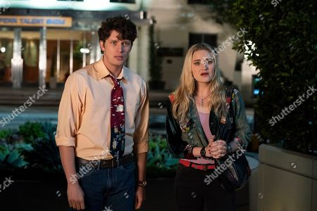 Brett Dier as C.B. and AJ Michalka as Lainey Lewis