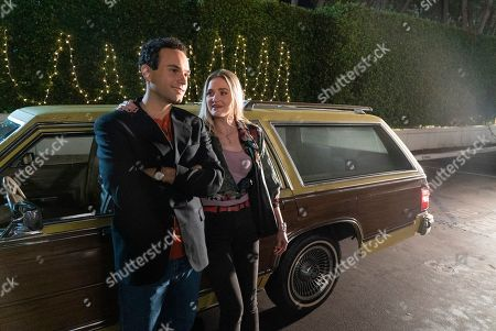 Troy Gentile as Barry Goldberg and AJ Michalka as Lainey Lewis