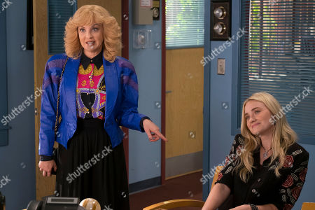 Wendi McLendon-Covey as Beverly Goldberg and AJ Michalka as Lainey Lewis