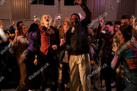 Tim Meadows as Principal John Glascott and AJ Michalka as Lainey Lewis