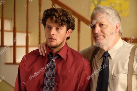 Brett Dier as C.B. and Clancy Brown as Mr. Crosby