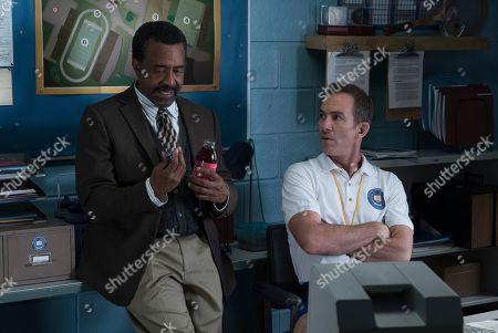 Tim Meadows as Principal John Glascott and Bryan Callen as Coach Rick Mellor