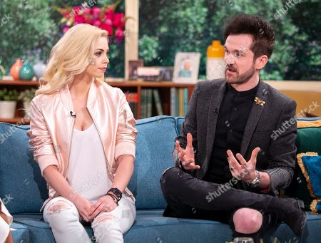 Stock Image of Chloe Crawford and Colin Cloud