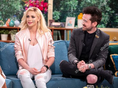 Stock Photo of Chloe Crawford and Colin Cloud