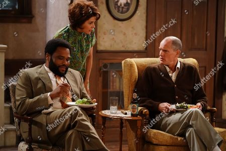 Anthony Anderson as Henry, Marisa Tomei as Edith and Woody Harrelson as Archie