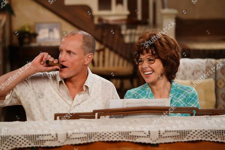 Woody Harrelson as Archie and Marisa Tomei as Edith